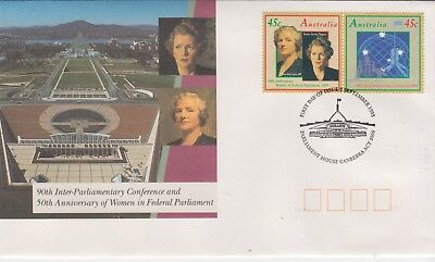 NEW YEAR SPECIAL!!!!!!AUSTRALIA 1993 Parliament Set First Day Cover .