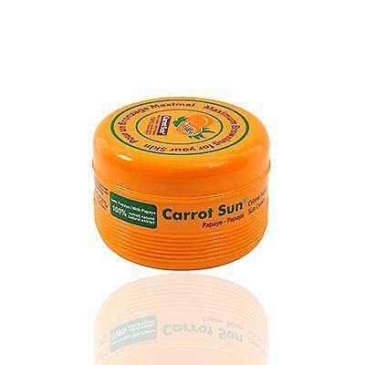 Carrot Sun Australia Papaya Tanning Cream  350ml Accelorators