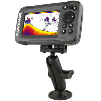 "RAM-B-101-LO12 :: RAM 1"" Ball Fishfinder Mount For The Lowrance Hook2 Series"