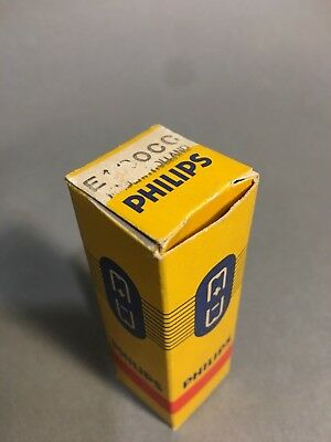 NOS Philips E180CC *SQ* Holland Audio Valve - 1960's Stock  **$1 No Reserve**