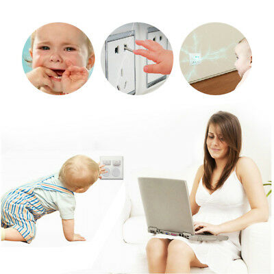 Lots Plug Socket Cover Baby Proof Child Safety Protector Guard Mains Electrical