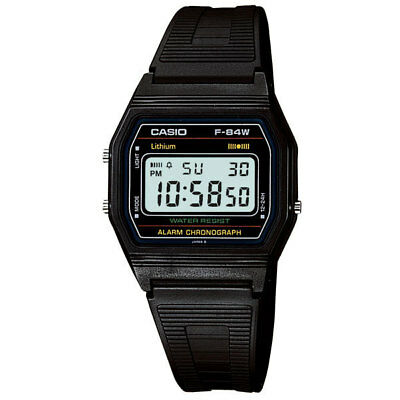 Casio Standard Digital F-84W-1 / Water Resist / 100% Authentic!!