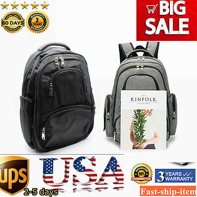 Mummy Large Bag Baby Maternity Diaper Nappy Changing Travel Backpack Handbag