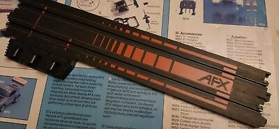 """Aurora AFX 15"""" Terminal track . ho scale red. FREE POSTAGE."""