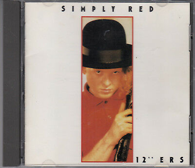 Simply Red 12' Ers 6 track Japanese CD Moneys Too Tight Holding Back Years
