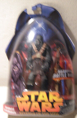 Star Wars Revenge of the Sith RotS 1-58  Wookiee Commando MOC