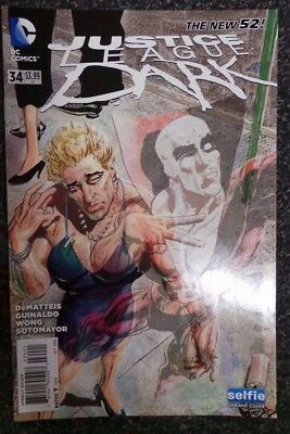 DC Comics The New 52 Justice League Dark Issue 34 Selfie Variant