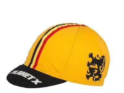 Flanders / Flandres Classic Cycling Cap Hat  Fixed Gear Fixie By Planet X BNIB