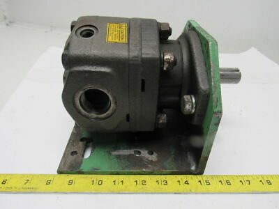"Parker M2B90658-08 High Speed Hydraulic Motor 7/8"" Shaft 1-5/16"" Ports"