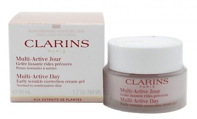 Clarins Multi Active Day Cream-Gel - Women's For Her. New. Free Shipping