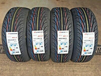 185 55 15 NANKANG NS-2 BRAND NEW TOP QUALITY TYRES 185/55R15 82V   x1 x2 x4