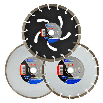 DIAMOND CUTTING DISC FOR ANGLE GRINDERS ø230 / 300/350/400 mm Concrete