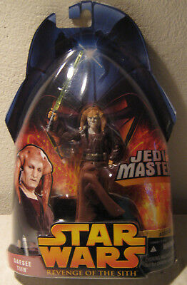 Star Wars Revenge of the Sith RotS 2-30 Saesee Tiin (Jedi Master)  MOC