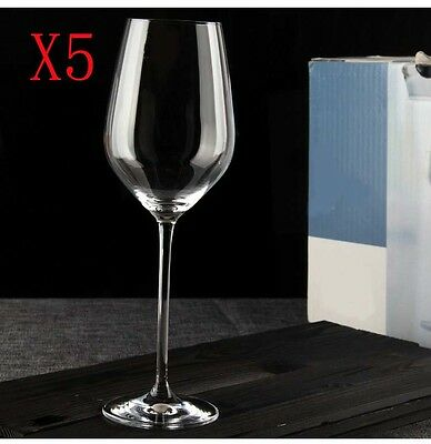 New 5X Capacity 505ML Height 258MM Large Transparent Red Wine Glass/Glassware %
