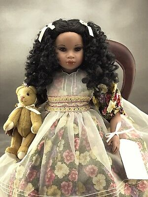 Sonya by Pauline Bjonness Jacobsen Limited Edition Porcelain Doll
