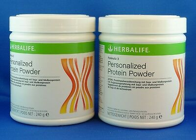 2x HERBALIFE Personalized Protein Powder