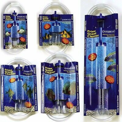 Interpet Prime Gravel Cleaner Fish Tank  Self Start Syphon Siphon