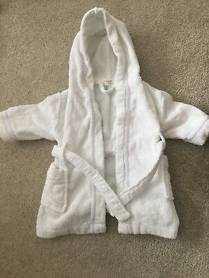 John Lewis Baby Dressing Gown 3-6 Months