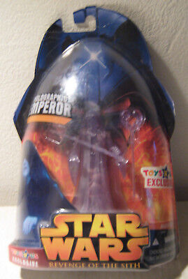 Star Wars Revenge of the Sith RotS TRUs exclusive Hologram Emperor MOC