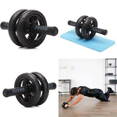 Ab Roller Wheel Abs Abdominal Exercise Machine Fitness Roll Out With Knee Pad Abdominal Exercisers