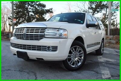 2008 Lincoln Navigator Base Sport Utility 4-Door 2008 Lincoln Navigator Salvage Wrecked Rebuildable Repairable EZ Easy Fix Save!