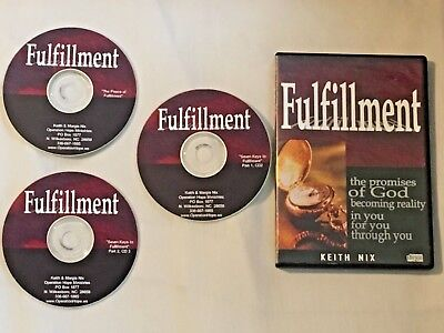 Fulfilment Audio CD Set by Keith Nix Restoration Worship Center Promises Of God