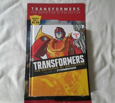 Transformers G1 The definitive collection issue 2 (Brand New Sealed)