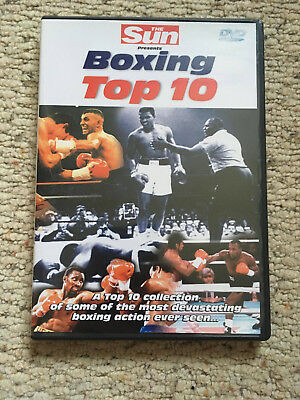 The Sun's Boxing Top 10 - Used but only watched once. Great condition.