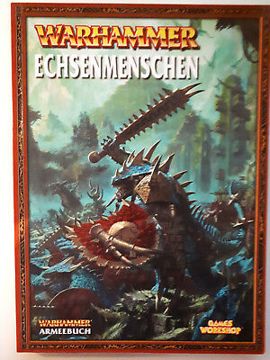 Warhammer Fantasy Armeebuch Deutsch Games Workshop Echsenmenschen