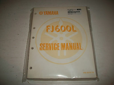 Nos 1984 Yamaha Yj600L Yj660 L Motorcycle Service Manual English/french New!
