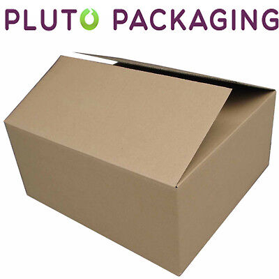 "Extra Large (XXL) 24x18x18"" DOUBLE WALL Strong Removal Moving Cardboard Boxes"