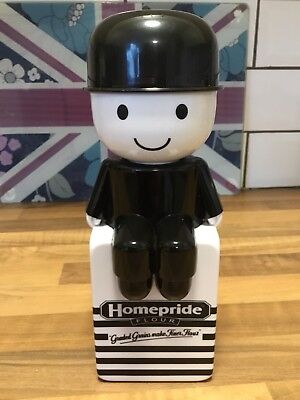 Rare Vintage Original Homepride Fred Sat On Flour Bag.flour Shaker. Collectible