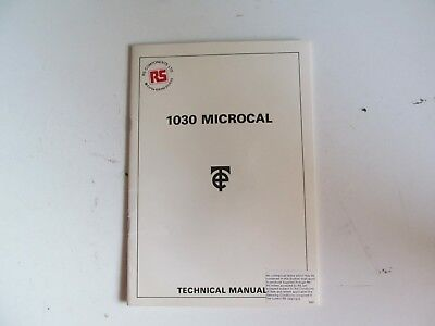 Time Electronics 1030 Technical Manual