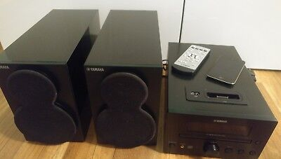 yamaha tsx 130 stereoanlage mit usb cd player und ipod. Black Bedroom Furniture Sets. Home Design Ideas