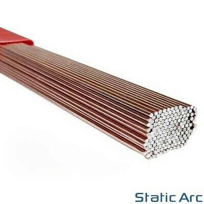 MILD STEEL TIG WELDING FILLER RODS STICK WIRE ER70S A18 1m LENGTH 1.6/2.4/3.2mm