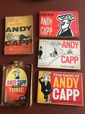 Vintage Andy Capp books 5 in total
