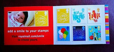Smiler Occasions Booklet 2006 MNH