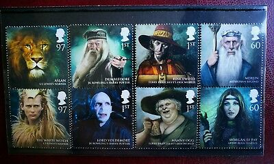 GB Harry Potter Stamps MNH