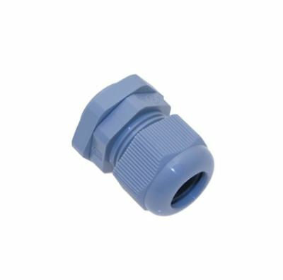PCG-16R, Mencom, PG16 Plastic Cable Gland, Gray, 0.276 - 0.472, Lot of 5