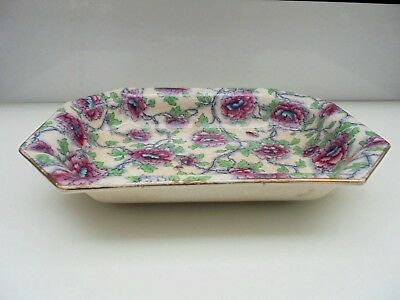 Vintage Art Deco Keeling and Co Denman Burslem Losol Ware Serving Dish England