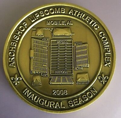 Archbishop Lipscomb Athletic Complex McGill Toolen Catholic HS Mobile Coin Medal