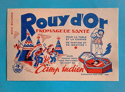 Bu 98: Rouy D'or Fromage Camp Indien - Dijon Cote D'or