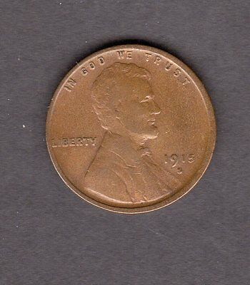 US 1915-S Lincoln Cent Coin in XF Extra Fine Condition