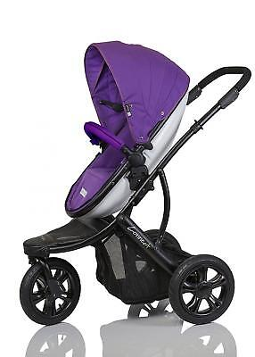 Guzzie and Guss Plus Connec 3 Stroller, Purple
