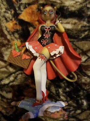 """ALLEY CATS - MARGARET LE VAN """"LITTLE RUDE RIDING HOOD"""" No box or tag"""