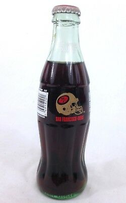 Vintage Coca Cola Unopened Bottle San Francisco 49ers 1994  #A24