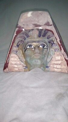 very rare ancient egyptian antiques 3d face mask