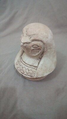 egyptian antiques hours canopic head