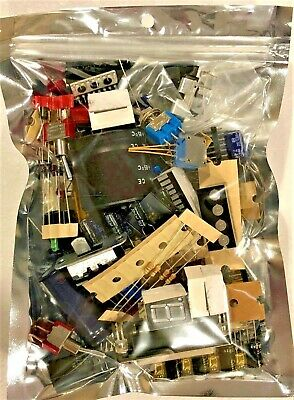 A Lot of Electronic Components Parts Grab Bag Style NEW DIY NO PULLS! New/NOS