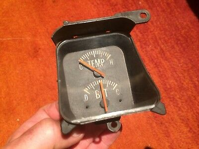 GTS Battery Temp Gauge For HQ Monaro Holden ..tested Working
